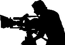 219x152 Cameraman Silhouette
