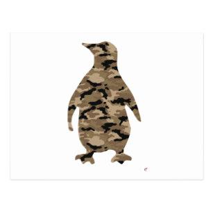 307x307 Penguin Silhouette Postcards Zazzle