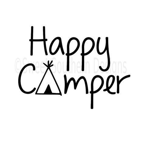 474x474 Happy Camper Svg Instant Download Design For By Ssdesignsstudio