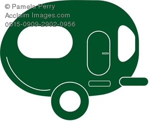 300x244 Camper Silhouette Clipart Amp Stock Photography Acclaim Images