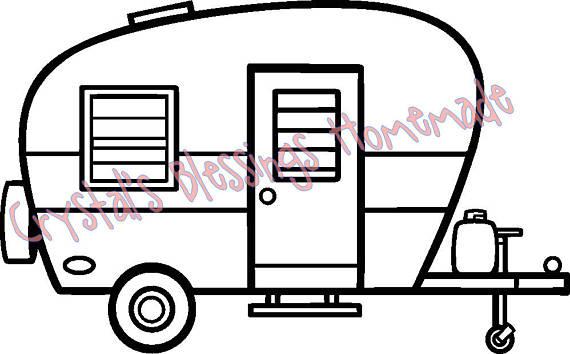 570x354 Camper Svg And Silhouette Studio Files