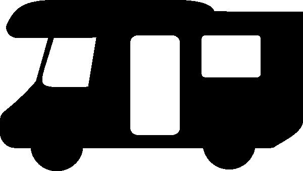600x338 Camper Silhouette Clip Art