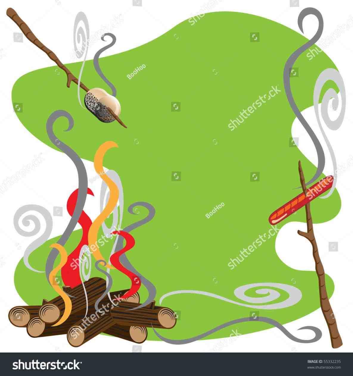 1185x1264 Campfire Marshmallow Clipart Alltripgo