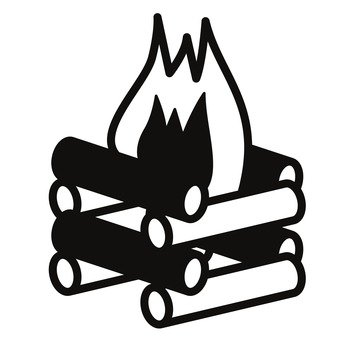 340x340 Free Silhouettes Bbq, Bonfire, Outdoor