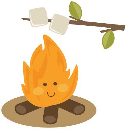 432x432 Randome Clipart Campfire Marshmallow