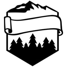 236x236 Camping Logo Silhouette Design, Silhouettes And Logos