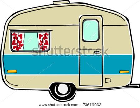 450x349 Camper Clipart Camping Trailer