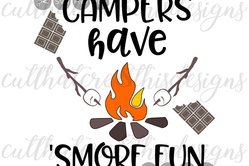 816x544 Campers Have Smore Fun, Campfire, Campi Design Bundles