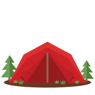367x367 Cute Camping Tent Clipart Pendaki Keren