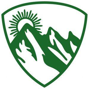 300x300 Mountain Hiking Badge Mountain Hiking, Silhouette Design