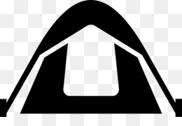 260x180 Tent Camping Silhouette Clip Art