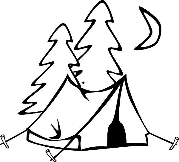 600x541 In Tents Second Round Clip Art
