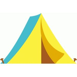 300x300 Silhouette Design Store Camping Tent Camping Outdoor Clipart