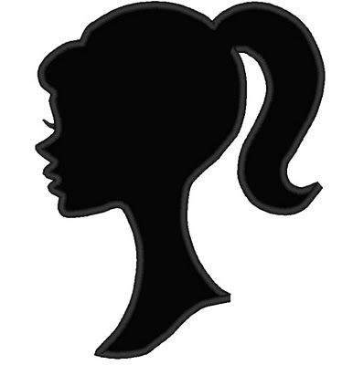 374x400 Here Are A Few Good Barbie Silhouettes. You Can Download Them
