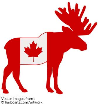 335x355 Canada Clipart Black And White