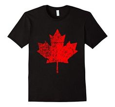 236x220 Men's Canada Day T Shirt. Canada Maple Flag Distressed T Shirt Xl