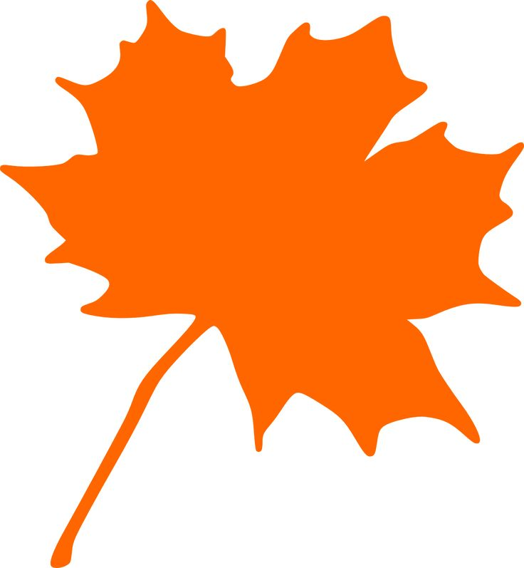 Canadian Maple Leaf Silhouette