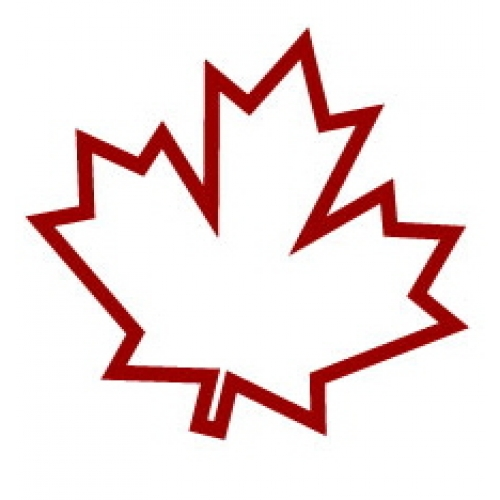 500x500 Leaf Clipart Canadian Maple Leaf Many Interesting Cliparts