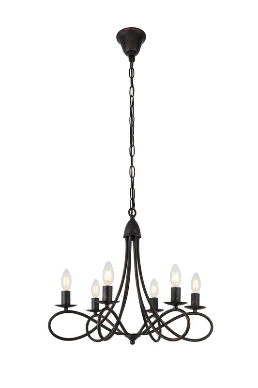 533x800 Darby Home Co Diaz 6 Light Candle Style Chandelier Amp Reviews Wayfair