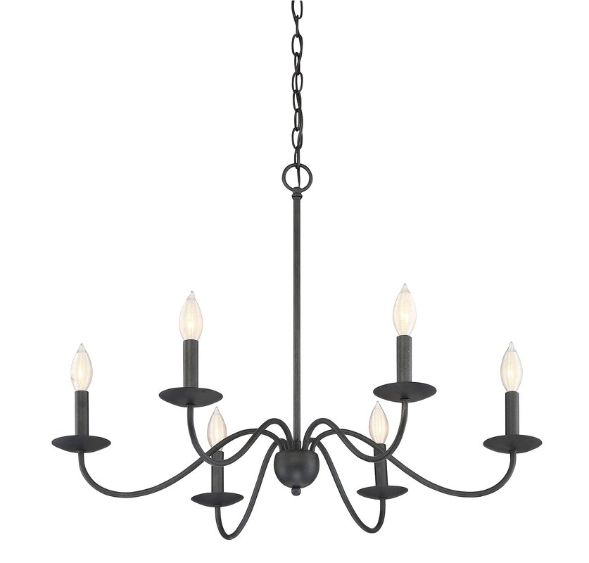 837x800 Farell 6 Light Candle Style Chandelier Amp Reviews Joss Amp Main