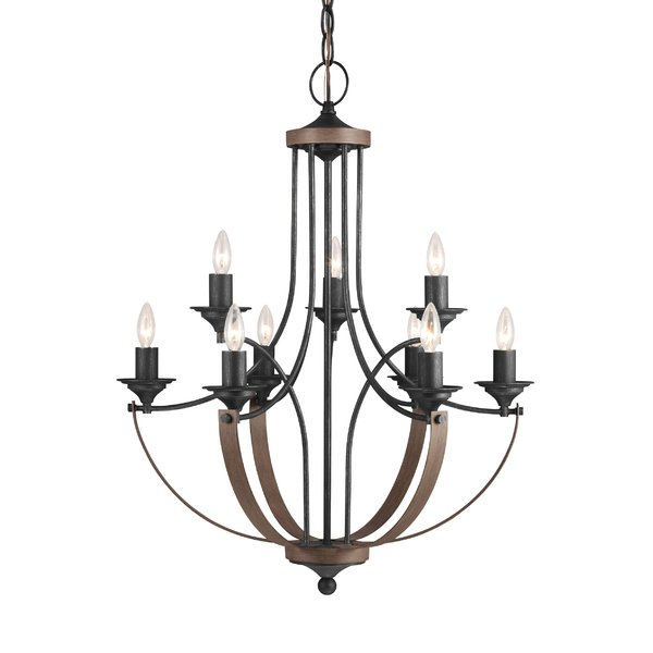 600x600 Birch Camilla 9 Light Candle Style Chandelier Amp Reviews