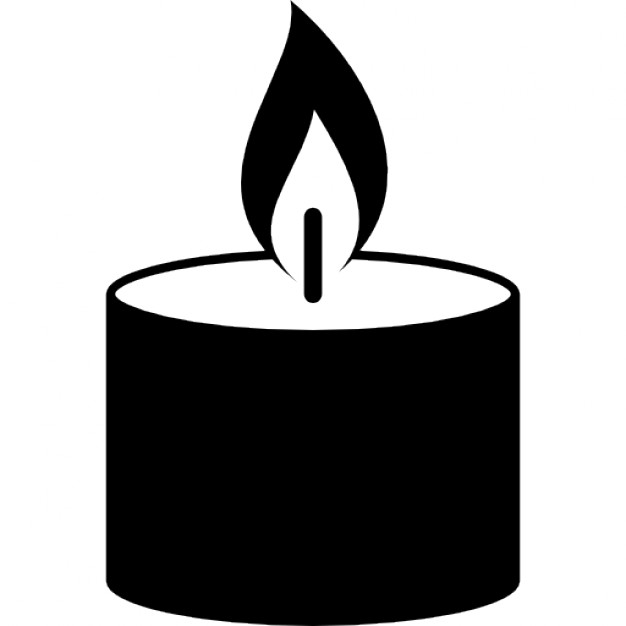 626x626 Candle Burning Flame Icons Free Download