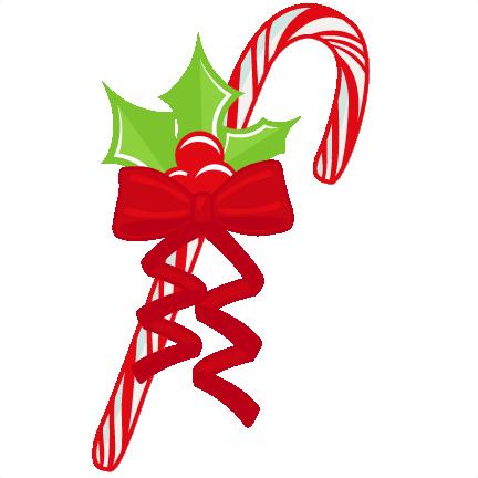 432x432 Christmas Candy Cane Svg Scrapbook Cut File Cute Clipart Files