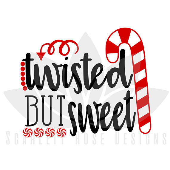 570x570 Christmas Svg Candy Cane Twisted But Sweet Peppermint