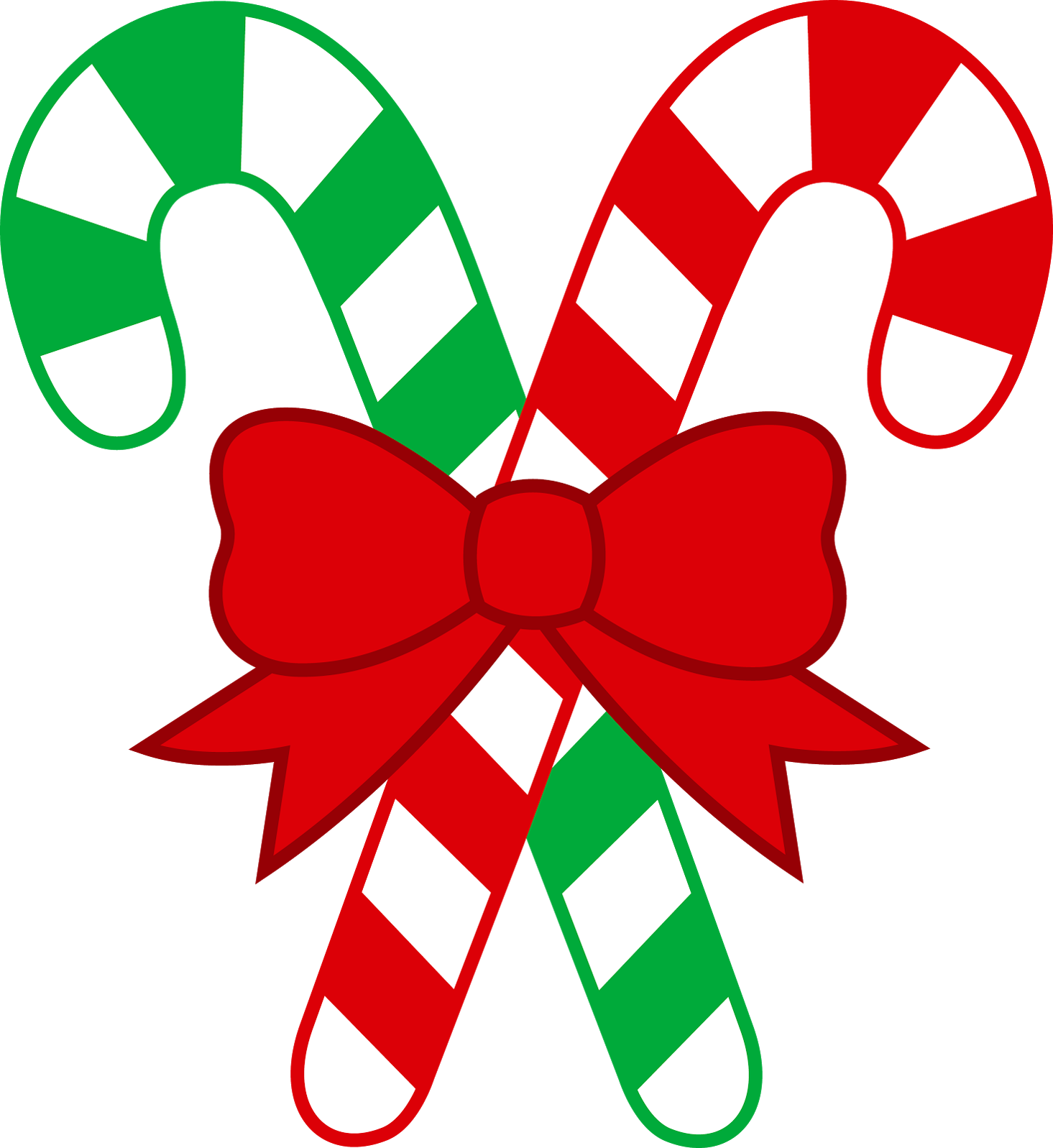 1465x1597 Red And Green Christmas Transparent Png Candy Cane Clipart