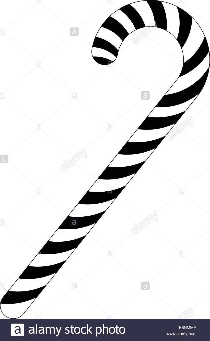 858x1390 Candy Cane Black And White Stock Photos Amp Images