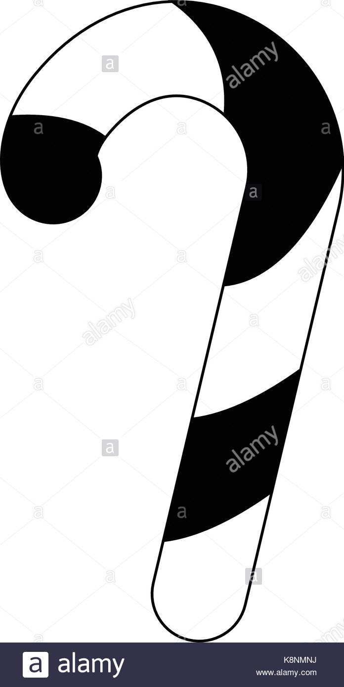 696x1390 Candy Cane Black And White Stock Photos Amp Images