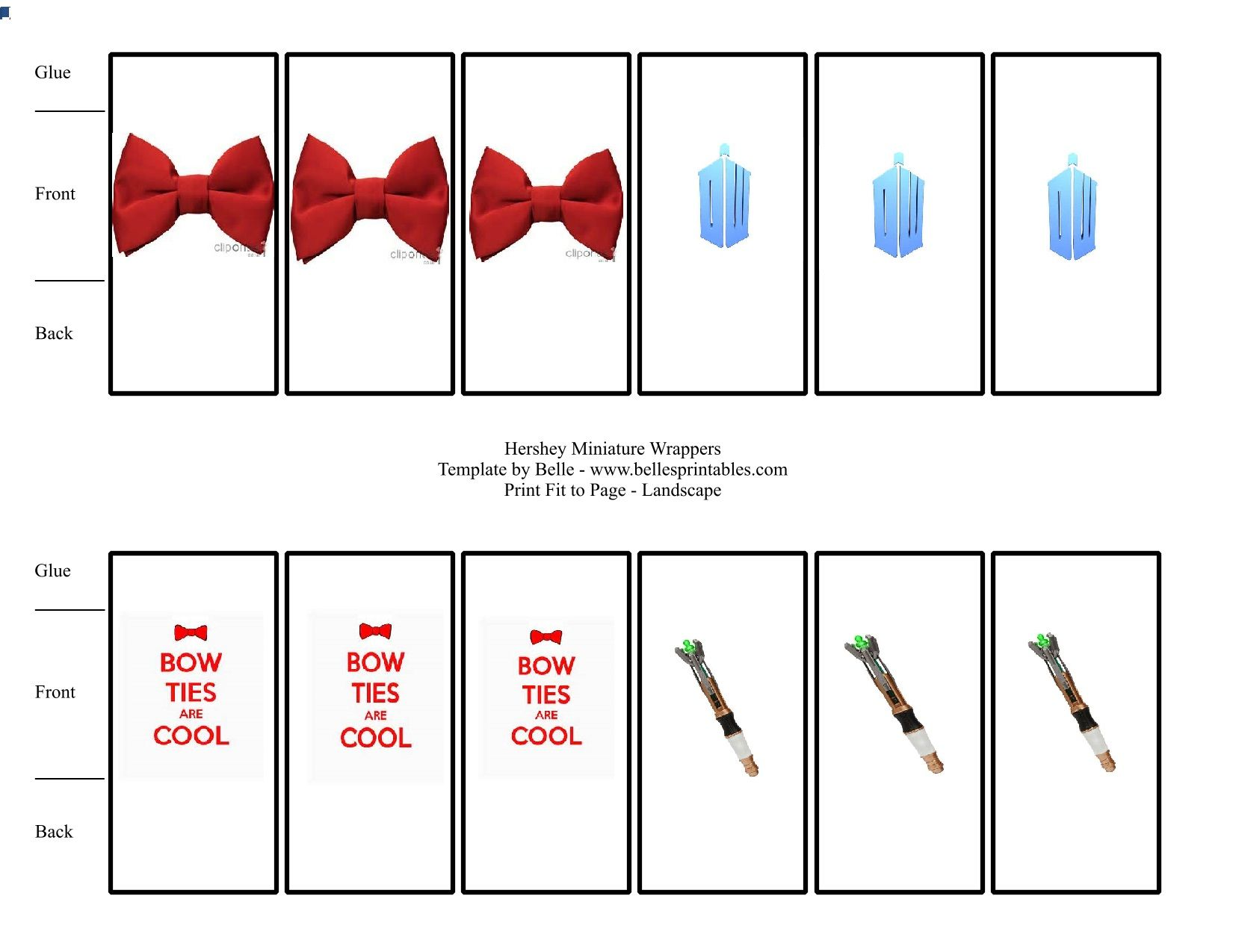 1650x1275 Doctor Who Candy Wrappers. I Found A Template Online For Candy