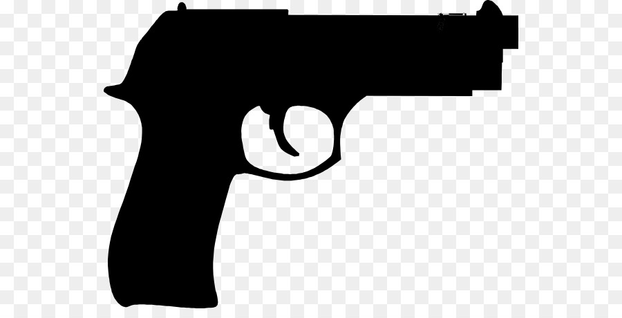 900x460 Firearm Pistol Rifle Cartoon Clip Art