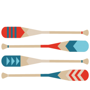 300x300 Canoe Paddles Svg Scrapbook Cut File Cute Clipart Files