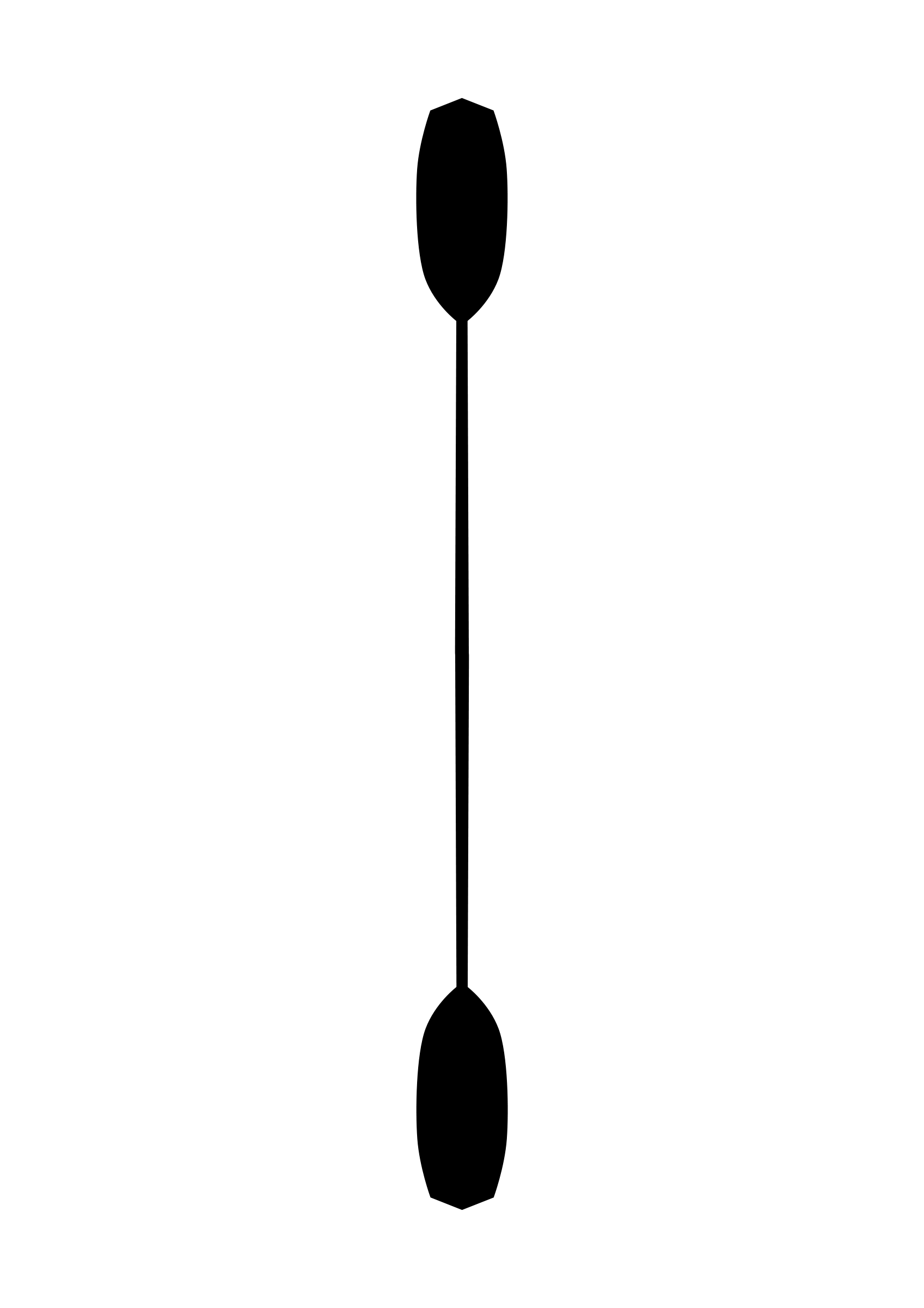 1697x2400 Paddle Silhouette