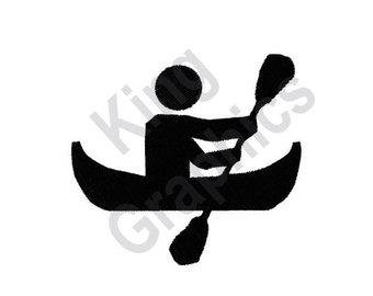 340x270 Canoe Silhouette Etsy
