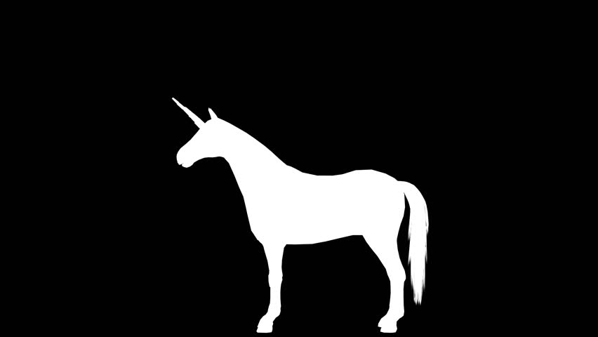852x480 3d Stallion Horse Stand Animation Silhouette As Lossless 4k Png +