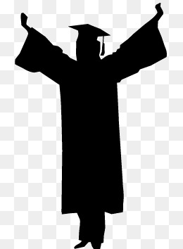 260x354 Graduates Silhouette Png Images Vectors And Psd Files Free