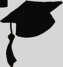 250x268 Graduation Cap Silhouette Clip Art