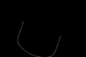 298x198 Graduation Hat Silhouette Clip Art