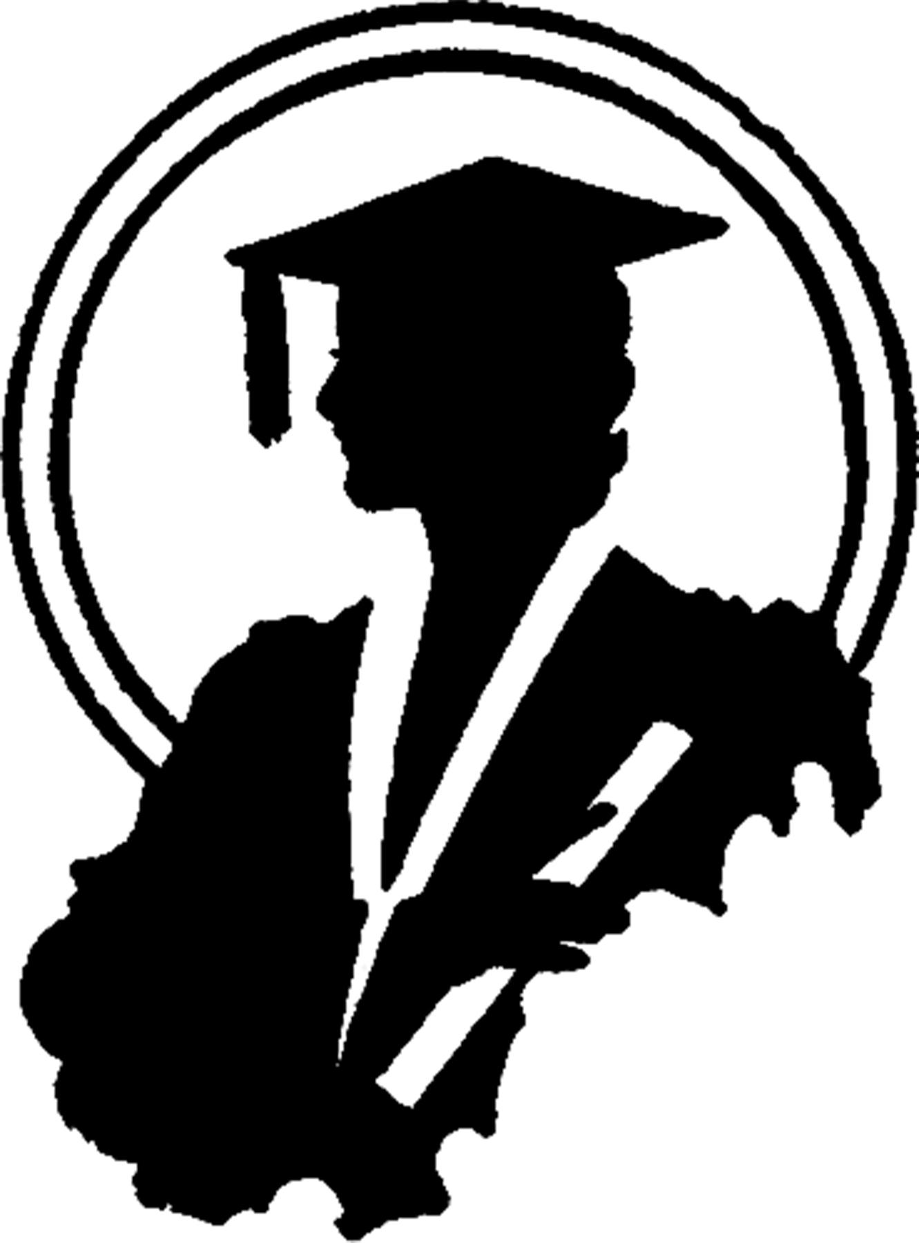1331x1800 Graduation Silhouette Image