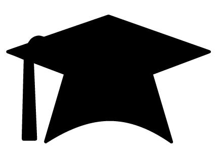 439x311 Graduation Cap Clip Art Free Clipart