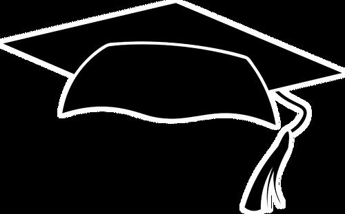 500x311 Graduation Cap Silhouette Public Domain Vectors
