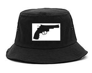 300x239 Kings Of Ny Gun Silhouette Style Printed Bucket Hat Revolver 45 Ebay