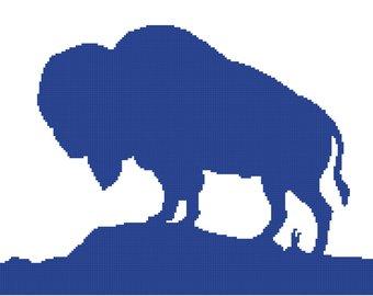 340x270 Buffalo Silhouette Etsy
