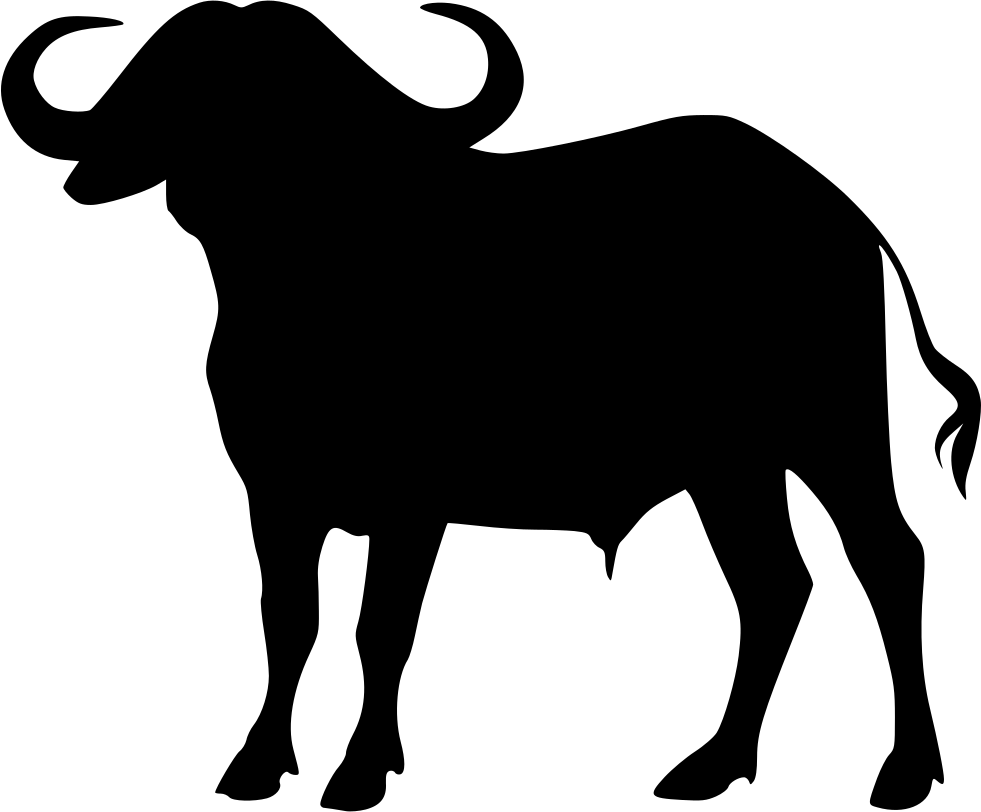 981x812 Cape Buffalo Svg Png Icon Free Download ( 438487)