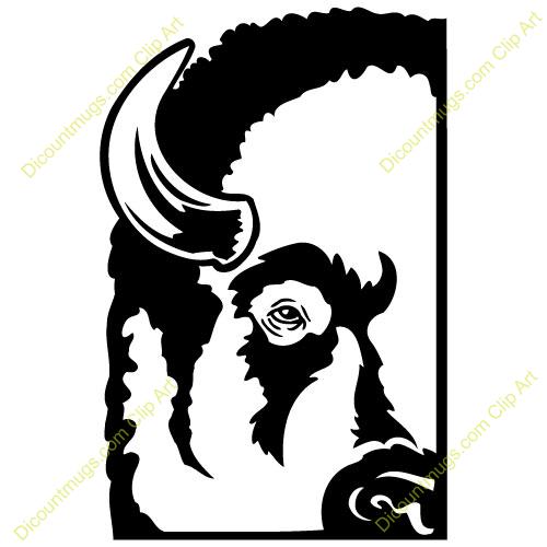 500x500 Goats Head Clipart Buffalo