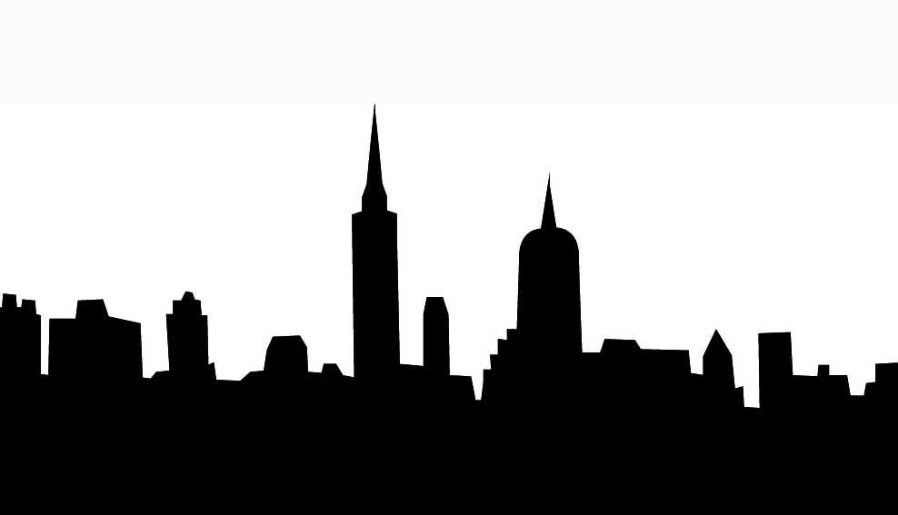 988x567 Building Clipart Black And White Png