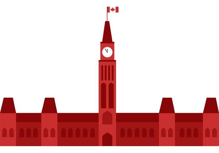 700x490 Canadian Parliament Building Free Vector Art