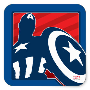 307x307 Captain America Silhouette Gifts On Zazzle